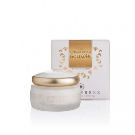 Locherber Gold 24k Crema Viso Antiage