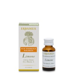 Olio Essenziale Biologico di Limone 10 ml