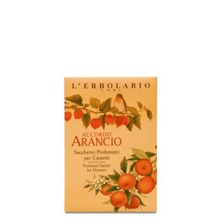 Sacchetto Profumato per Cassetti Accordo Arancio