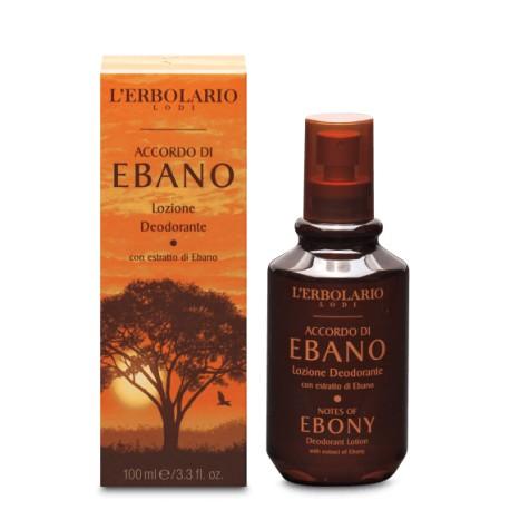 Lozione Deodorante Accordo di Ebano 100 ml