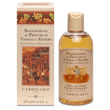 Bagnoschiuma Vaniglia e Zenzero